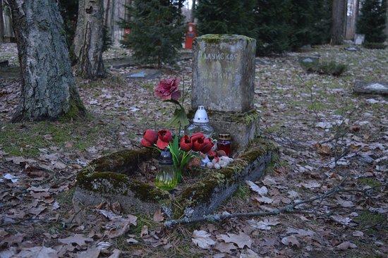 Borne Sulinowo, Poland: Child grave