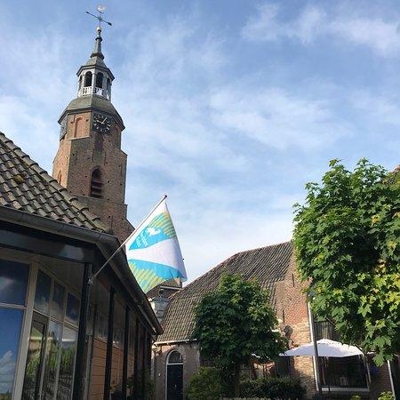 Blokzijl, The Netherlands: Hotel ground