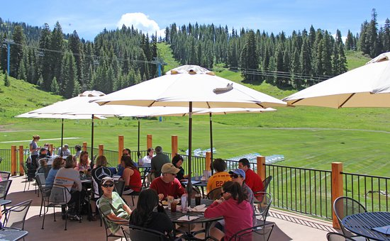 McCall, ID: Slopeside dining in the summer