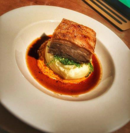 Angmering, UK: Pork