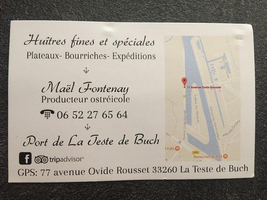 Le Cailloc Carte De Visite Du