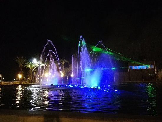 Illuminated Fountain