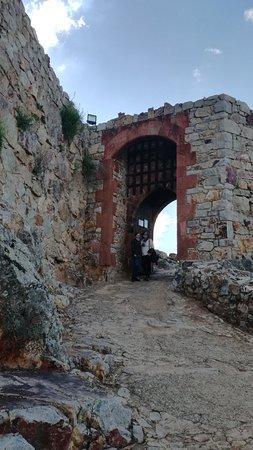 Sacro Convento y Castillo de Calatrava La Nueva: La entrada