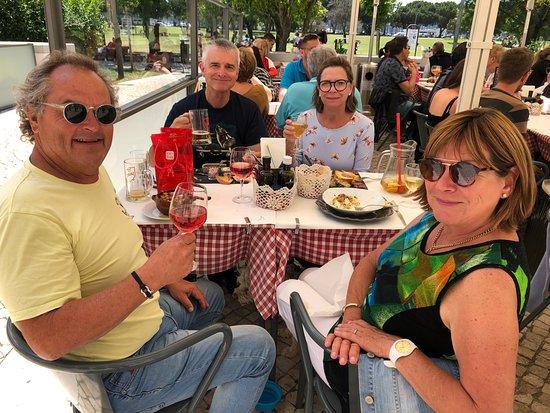 Restaurante Comptoir Parisien: Our mates from Australia