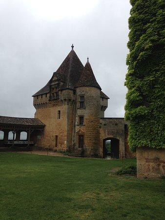 Biron, فرنسا: Château
