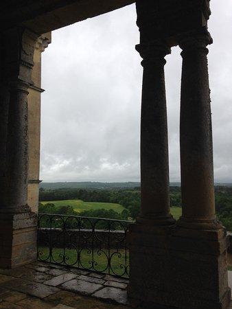 Biron, فرنسا: Vue du château