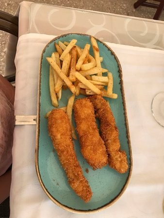 Elli's: Barnens fish and chips