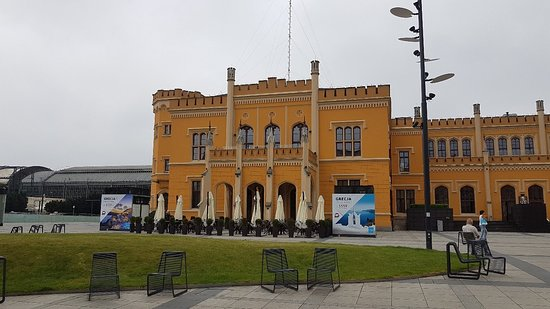Central Station of Wroclaw: Hauptbahnhof, Breslau