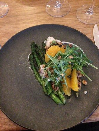 Restaurant Four: Asparagus Starter