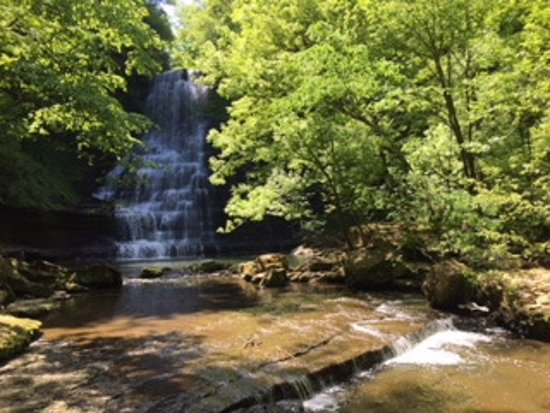 Smithville, TN: Gorgeous Carmac Falls, accessible via short but steep trail