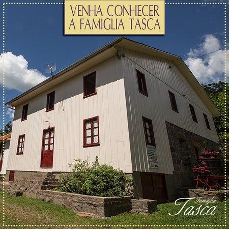 Monte Belo do Sul, RS: A casa da Famiglia Tasca é de 1929.