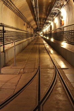 Ouvrage du Simserhof : één van de vele ondergrondse gangen