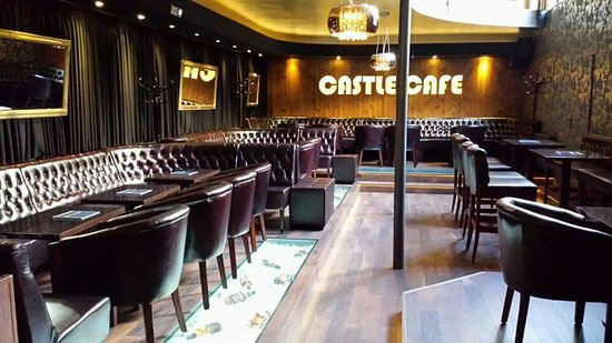 Nove Zamky, Slowakei: Castle Cafe