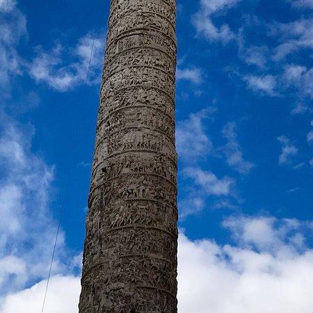 Column of Marcus Aurelius ภาพถ่าย