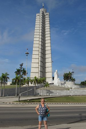 Monument to Jose Marti: Impressively tall.