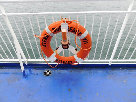 Cairnryan, UK: Stens Superfast VII lifebuoy