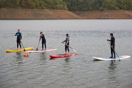 Villerest, Francia: Paddle sur le lac