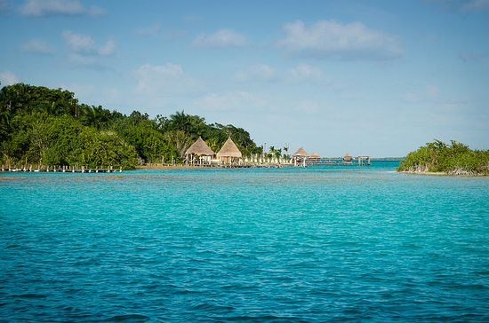 Bacalar, Mexico: Tour in boat