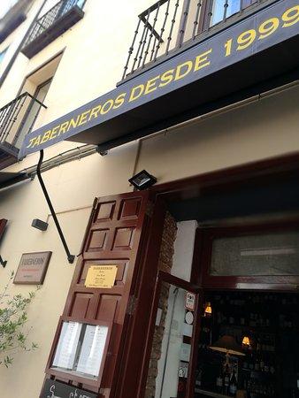 Restaurante Taberneros: Fachada