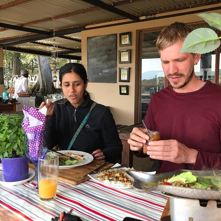 Hekpoort, South Africa: Best chillie , good food , casual atmosphere .