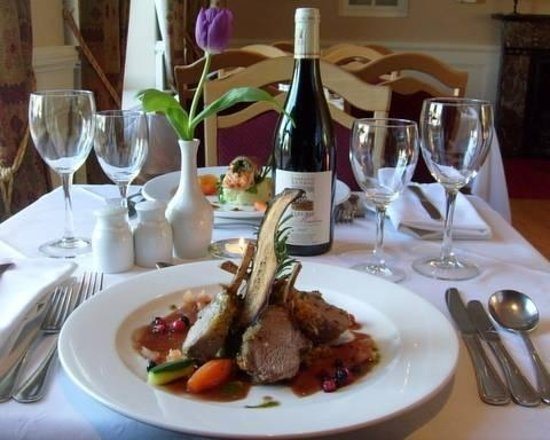 Renvyle, Irland: Dinner