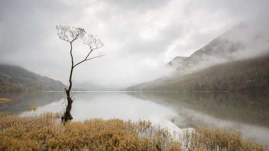 Keswick, UK: A misty morning at Buttermere