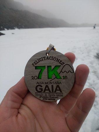 Gaia Turismo y Naturaleza: Medalla 7K.