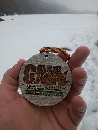 Gaia Turismo y Naturaleza: Medalla.