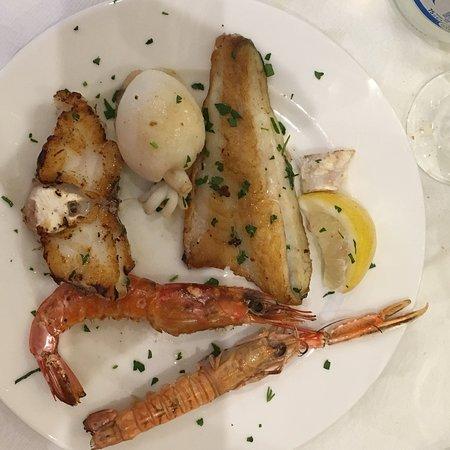 Musile di Piave, Italia: Grigliatina pesce
