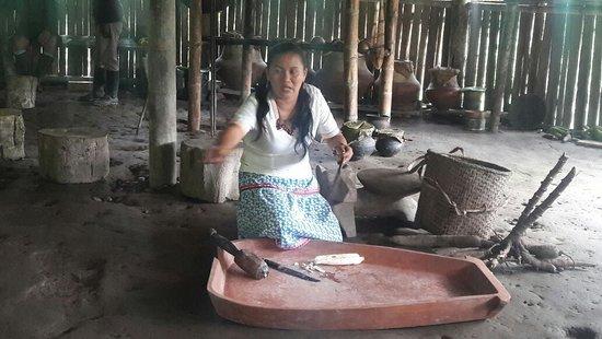 Orellana Province, Ecuador: Líder del grupo de mujeres Kuri Mullu.