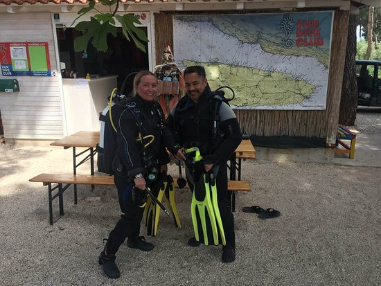 Supetar, Croacia: My instructor Ellie