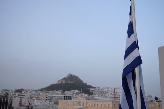 Amalia Hotel: Rooftop View