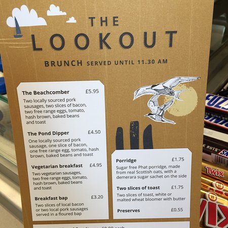 The Lookout : 2nd visit and still slow queues and no jacket potatoes