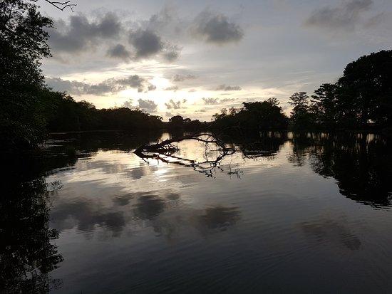 Eluwankulam, سريلانكا: zonsondergang