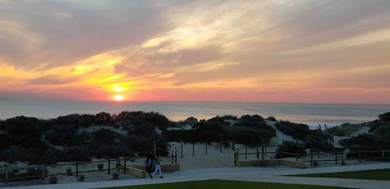 Scarborough, Australia: Sunset from the esplanade
