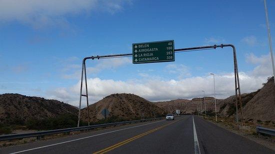 De Salta a Chilecito, ruta 40