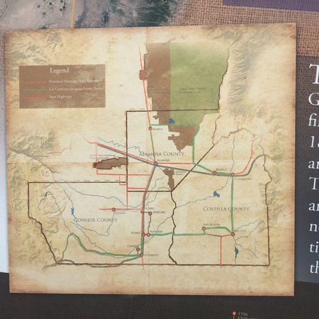 Ojo Caliente Mineral Springs Resort and Spa: Area Map