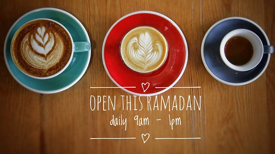 Family Room Cafe: open daily this Ramadan, serving up our usual delicious pastries and light meals