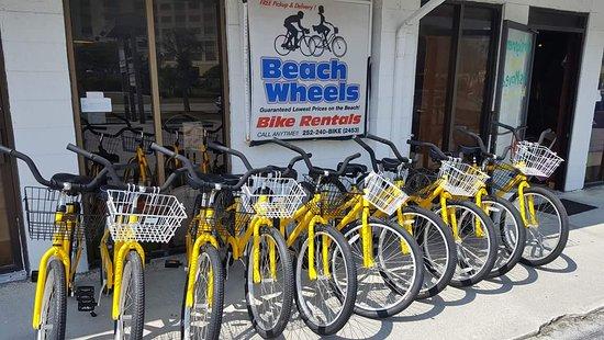 Beach Wheels Bike Rentals
