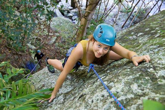 Cairns, Australia: Topknot Climbing