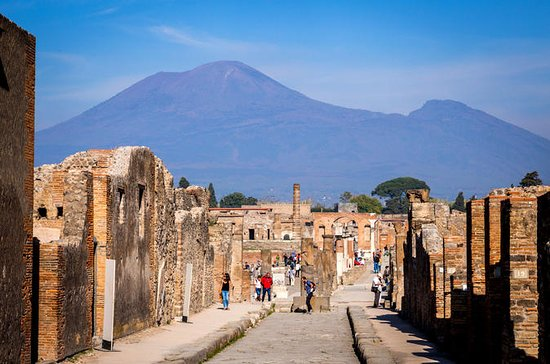Rome to Pompeii and Mt. Vesuvius Day...