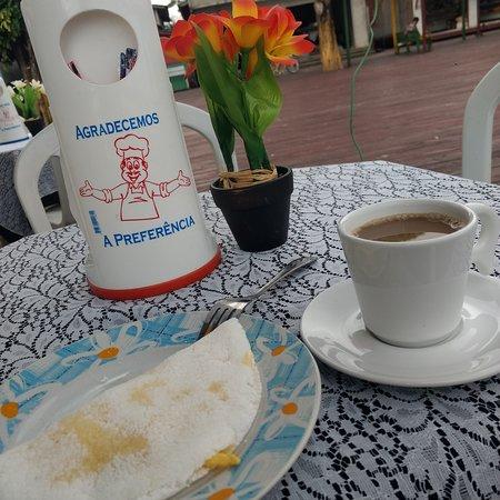 Afua, PA: Café com Tapioca e ovo