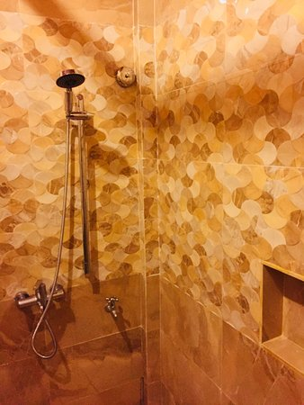 Shower on Double Deluxe Room