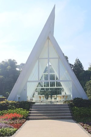 Green Forest Resort: The famous chapel
