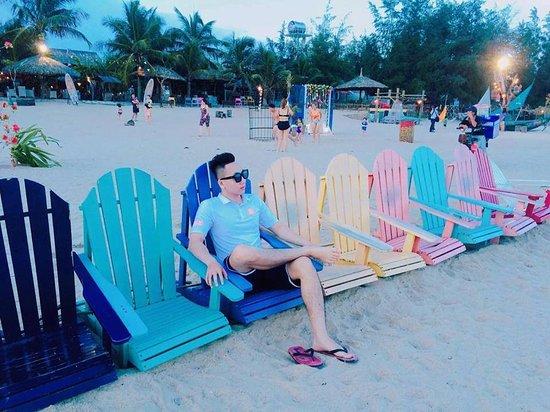 Binh Thuan Province, Vietnam: Coco Beach Camp.