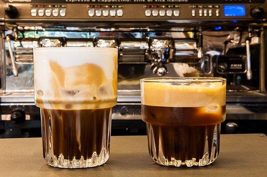 Coffee freddo espresso & Freddo Cappuccino - Picture of Dazed, Korydallos -  Tripadvisor