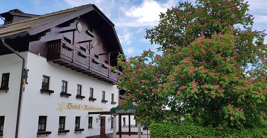 Hof bei Salzburg, Austria: Jagdhof Restaurant Exterior