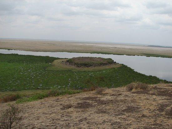 Amboseli National Park, Kenya: Panorama sul Lago Amboseli