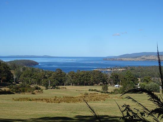 Route extrême sud de Hobart à Huonville