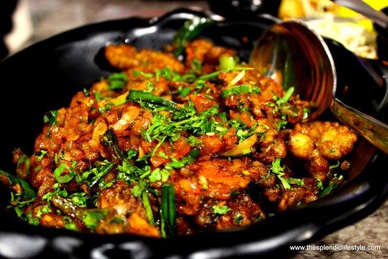 Kanpur Nagar District, India: crispy vegetables